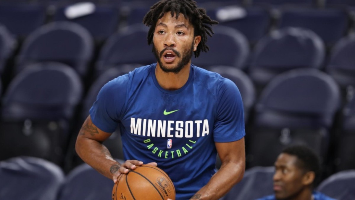 10 NBA Players That Should Play Overseas Next Season Derrick Rose