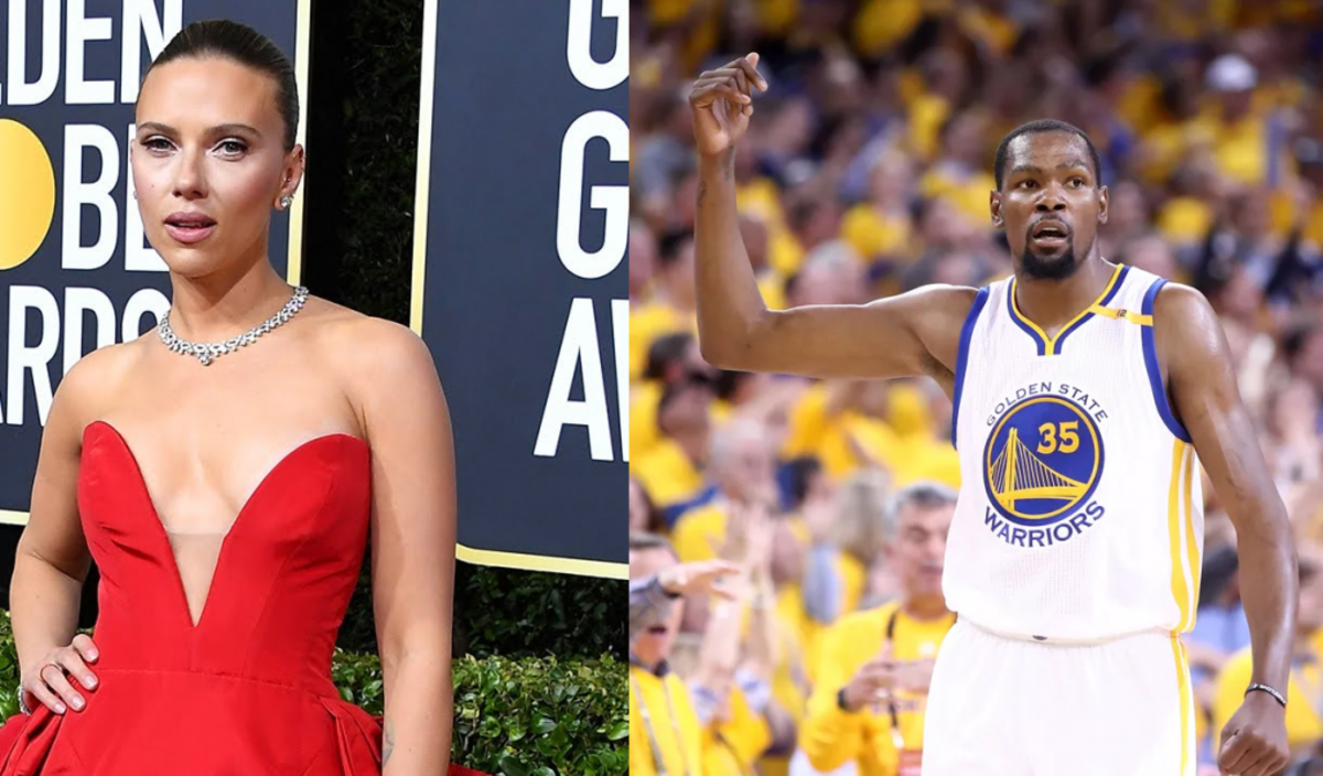 Kevin Durant Has Epic Response When Asked If He'd Still Drink Scarlet Johansson's Bath Water