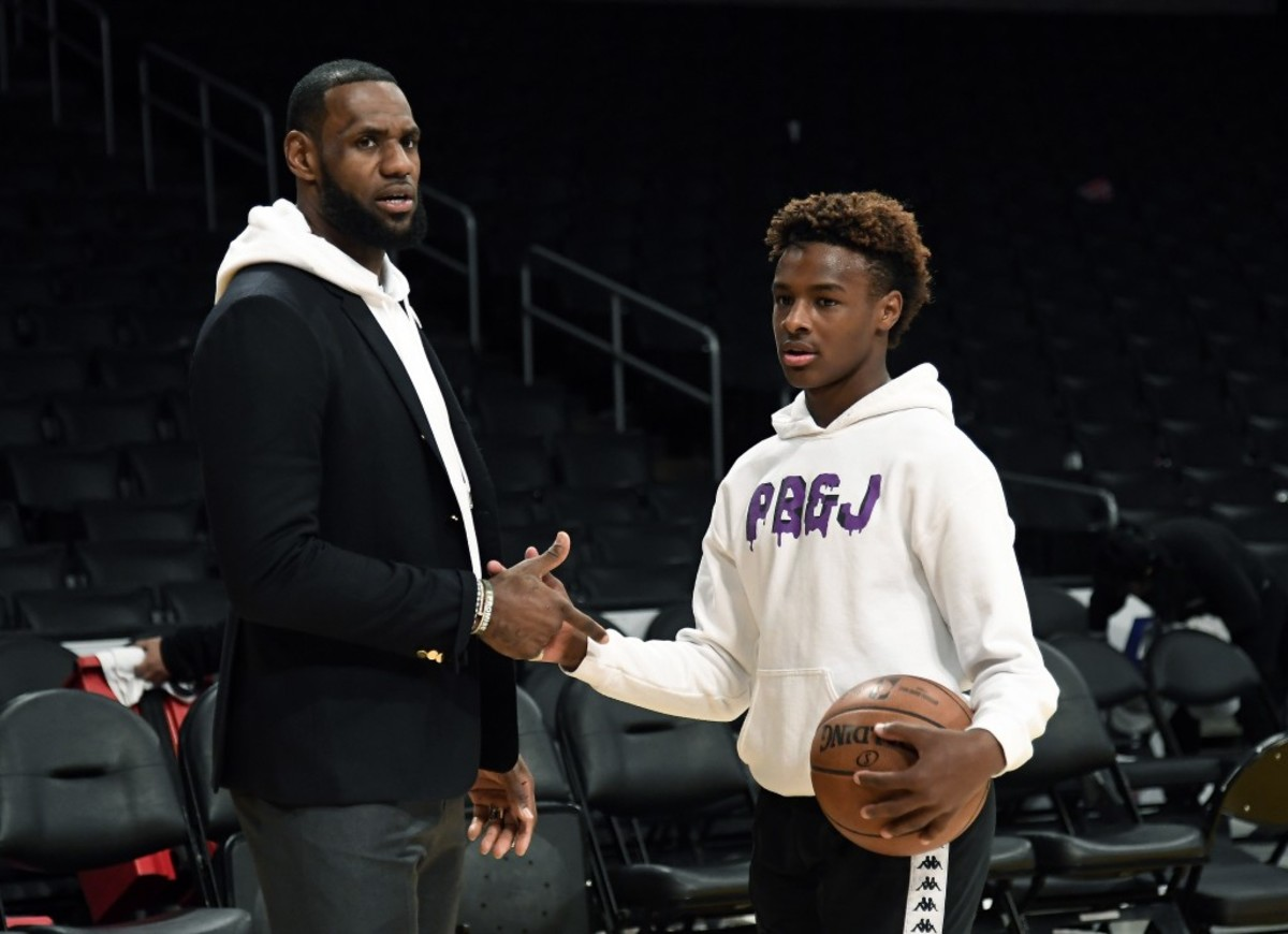LeBron James Welcome Bronny James To Instagram, And Sends A Message To The Haters