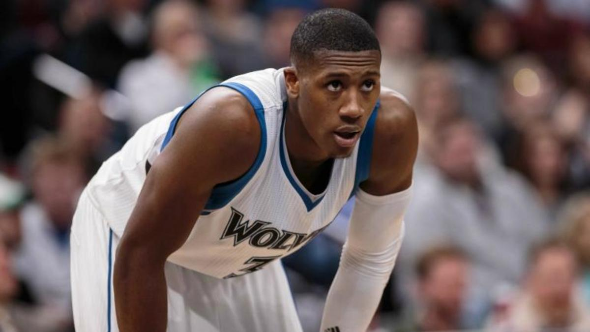Dec 6, 2016; Minneapolis, MN, USA; Minnesota Timberwolves guard Kris Dunn (3) in the fourth quarter against the San Antonio Spurs at Target Center. The San Antonio Spurs beat the Minnesota Timberwolves 105-91. Mandatory Credit: Brad Rempel-USA TODAY Sports
