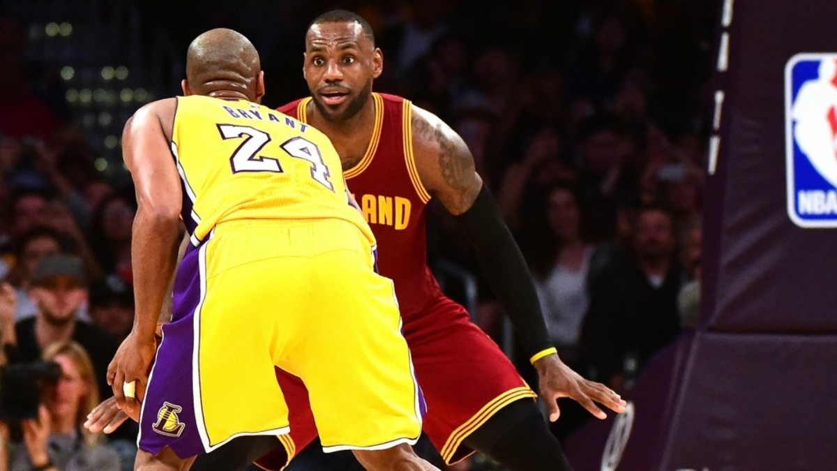 "d23aef499a7a LeBron James on Kobe Bryant  ""I Wanted To Be Just Like Him"