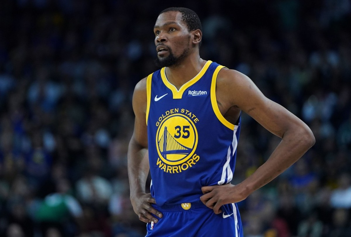 "6146750d48df Kevin Durant On His Future With The Warriors  ""Just Watch The Game ..."