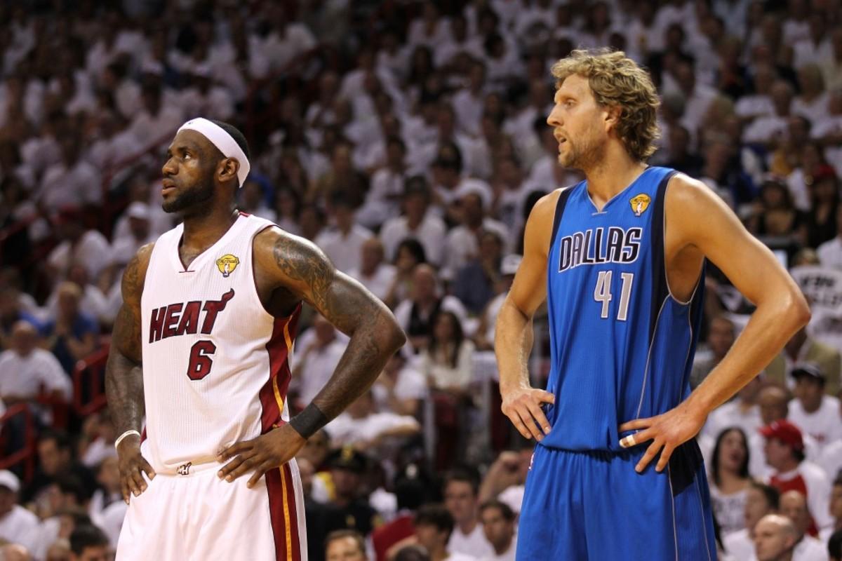LeBron Dirk 2011