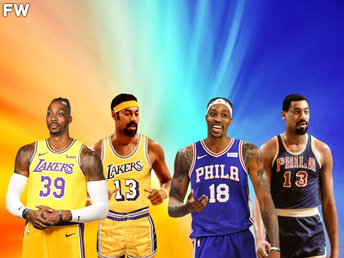 Dwight howard: 'Wilt Chamberlain Is My Idol And Favorite Player.'