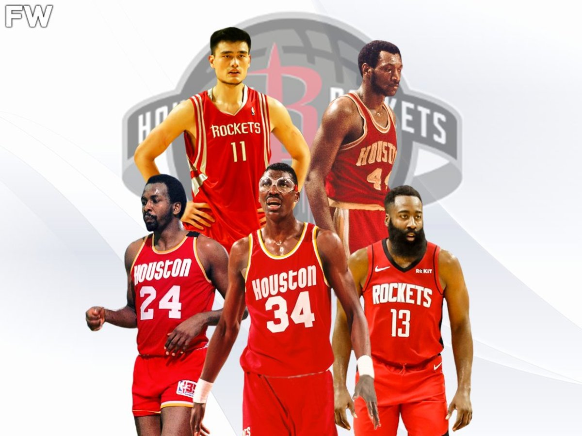Ranking The 5 Greatest Houston Rockets Ever: James Harden Is One Of The Best Players In Franchise History