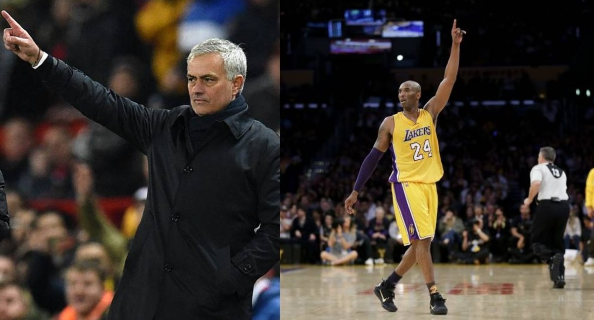 Jose Mourinho Hailing Kobe Bryant In First Spurs Press Conference Shows His Importance In Sports