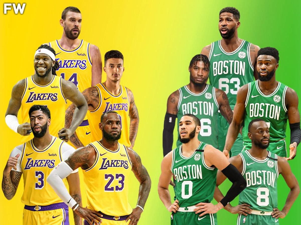 The Full Comparison: 2020-21 Los Angeles Lakers vs. 2020-21 Boston Celtics