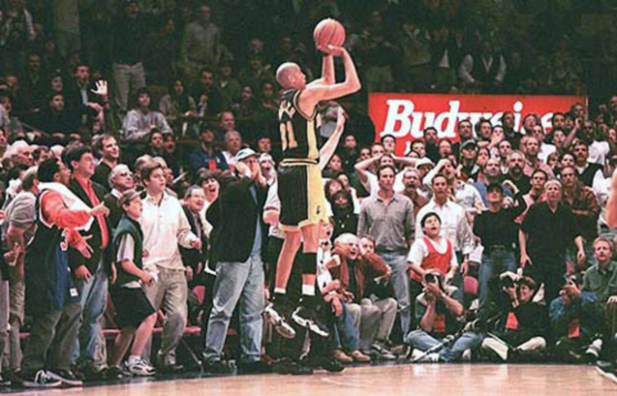 Reggie Miller vs. New York Knicks, 1995
