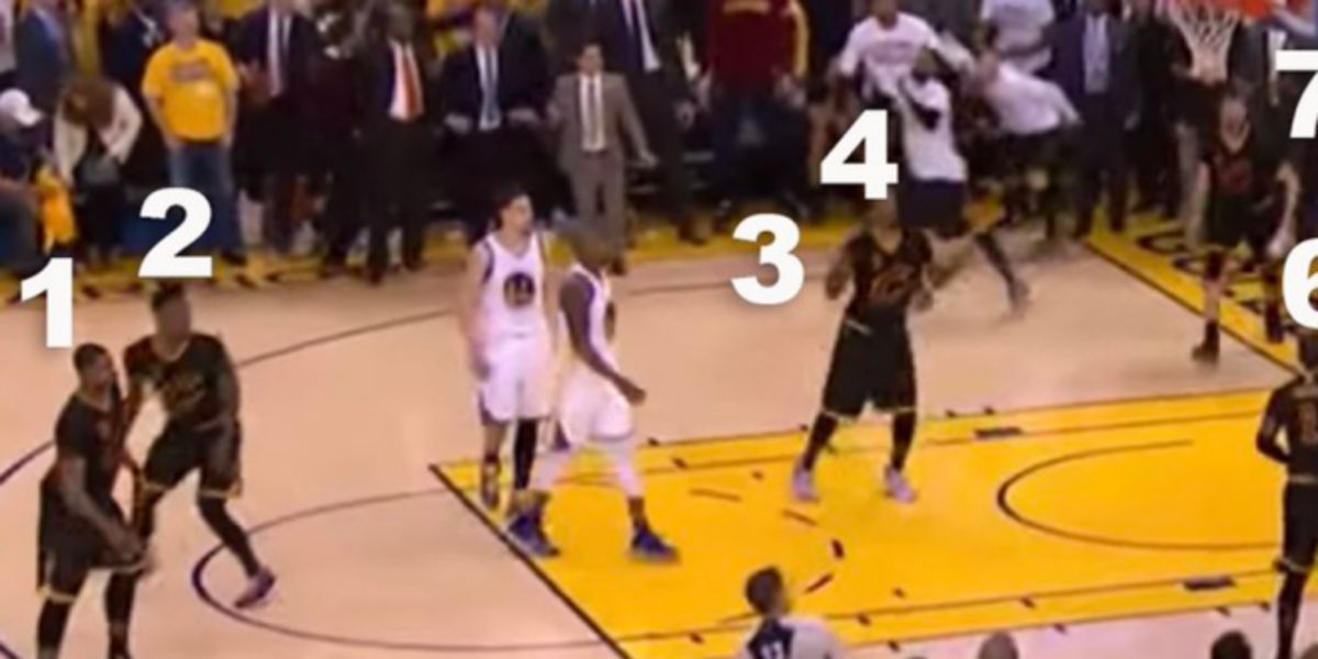 The Controversy That Nobody Noticed From The 2016 NBA Finals