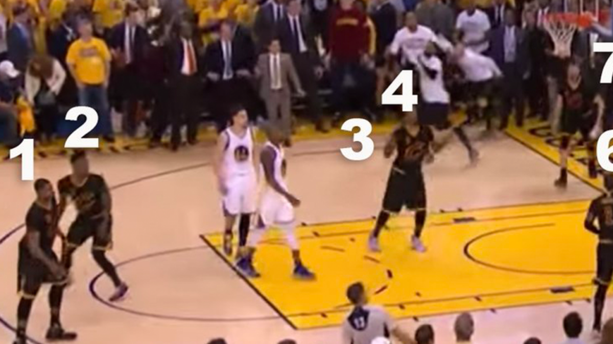 The Controversy That Nobody Noticed From The 2016 NBA Finals Never Forget
