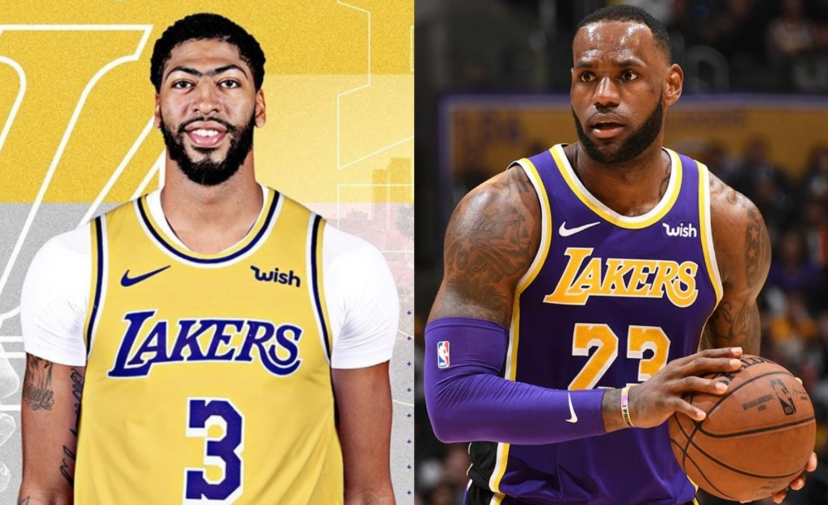 low cost 932f7 1b2a0 Anthony Davis To Wear No. 3 Jersey, Nike Has Denied LeBron ...