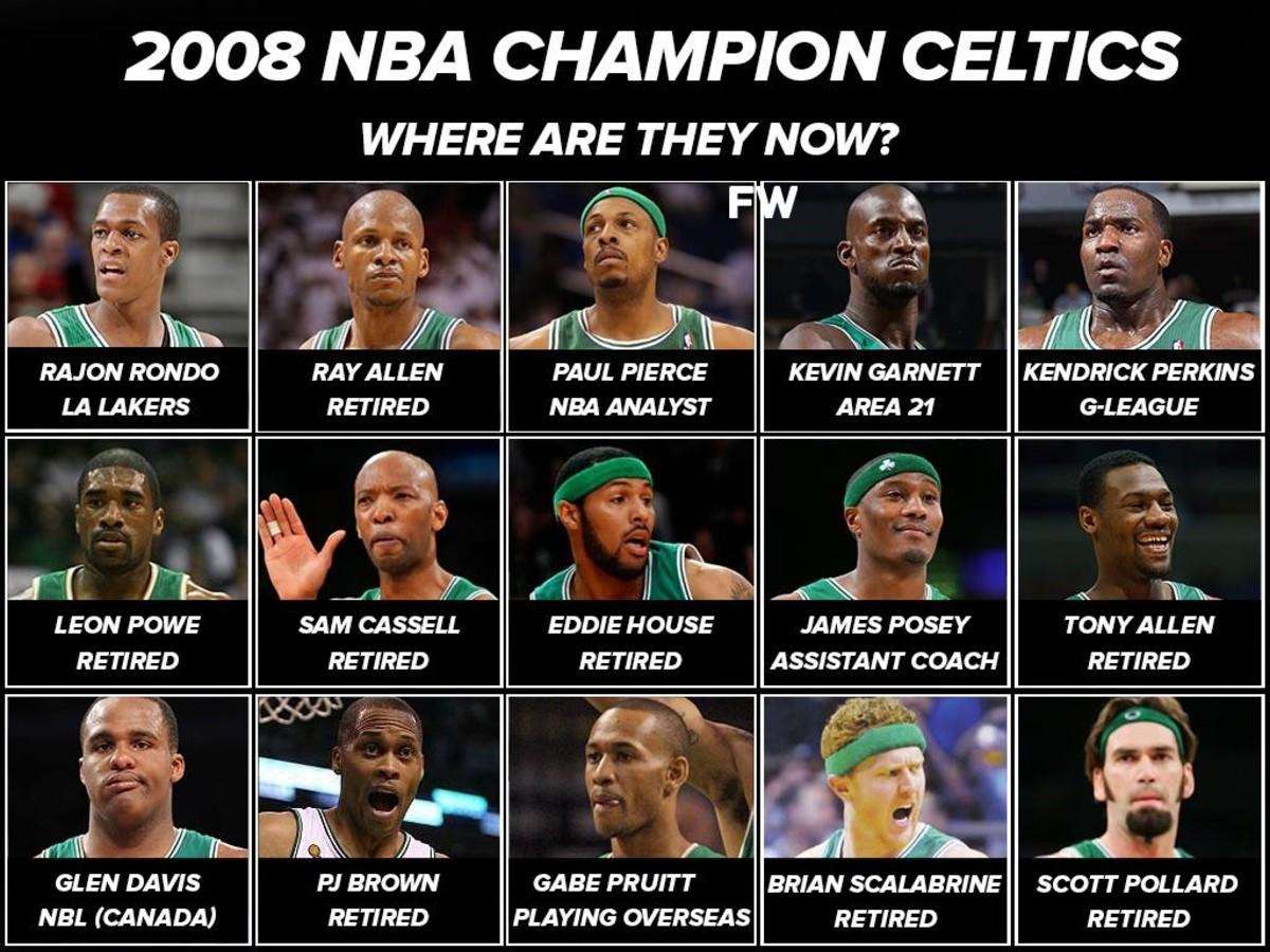 2008 NBA Champion Boston Celtics: Where Are They Now?