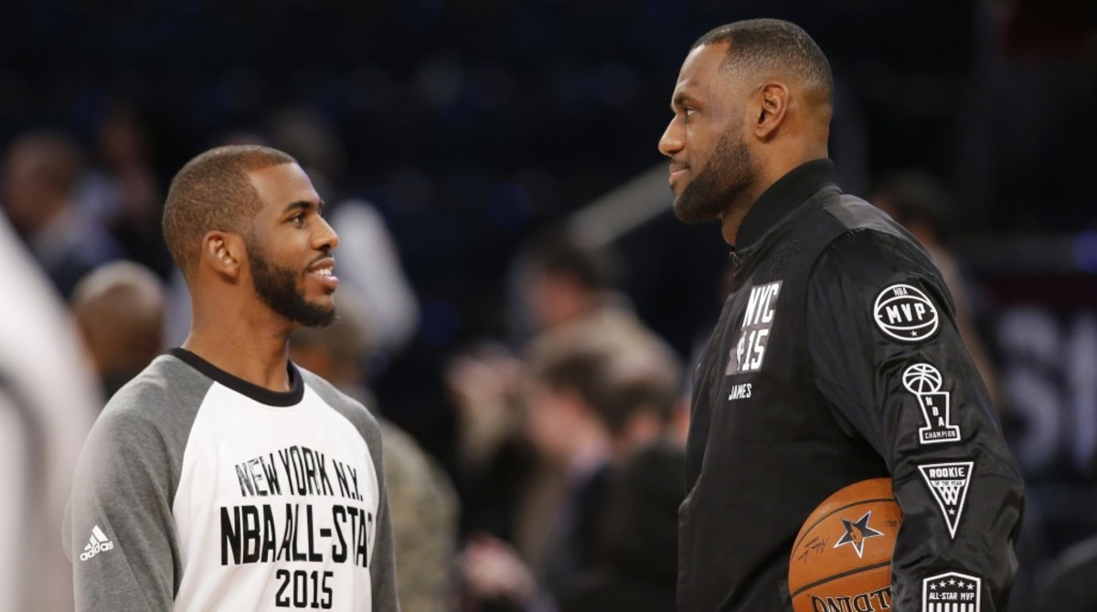 73072bdb4007 Report  Chris Paul Is Already Trying To Recruit LeBron To Houston –  Fadeaway World