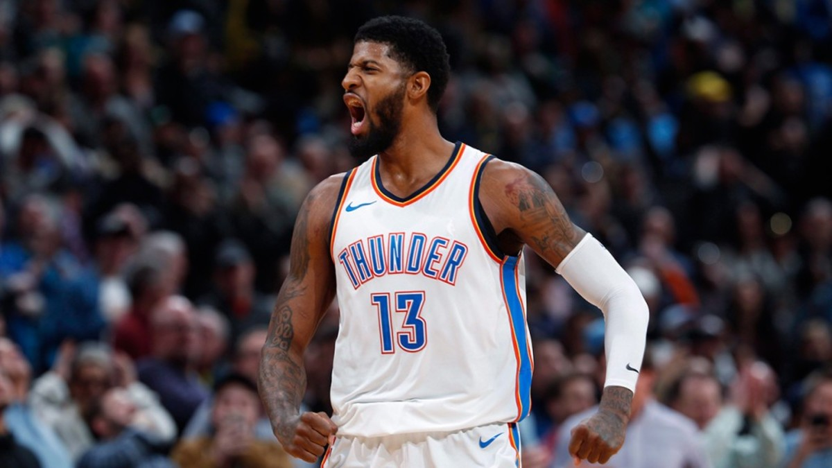 Paul George commits to re-sign with Oklahoma City Thunder