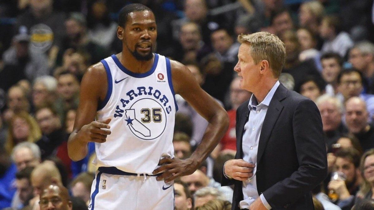 """Steve Kerr On Kevin Durant: """"When You Factor In Everything, Size, Speed, Athleticism, I Think He's The Most Talented Basketball Player I've Ever Seen In My Life"""""""