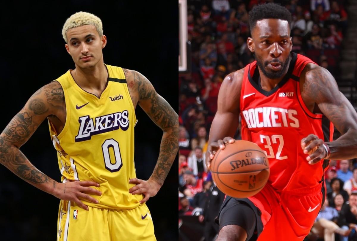 Lakers Bench vs. Rockets Bench Kuzma vs. Green
