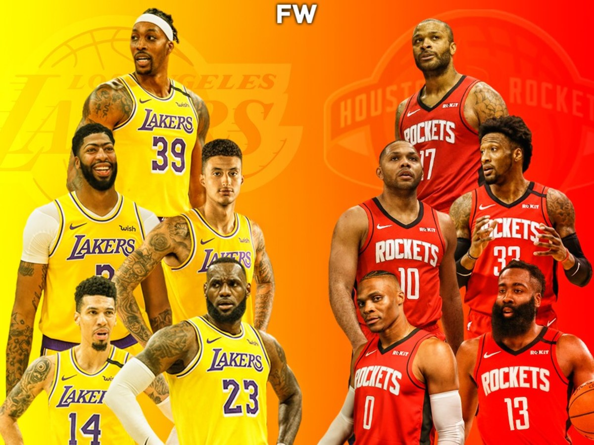 The Full Comparison: Los Angeles Lakers vs. Houston Rockets