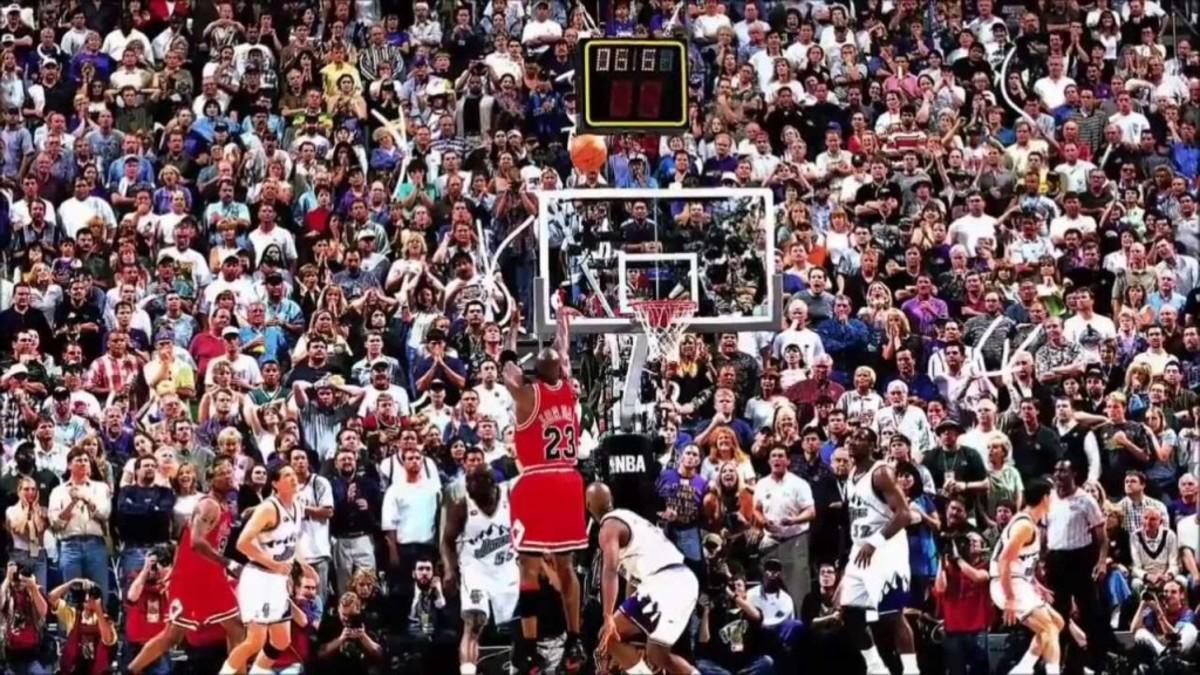 Michael Jordan Shot Utah Jazz