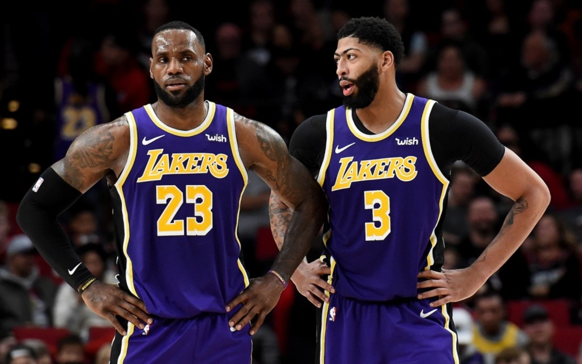 Anthony Davis Credits LeBron James For Teaching Him How To Take Care Of His Body