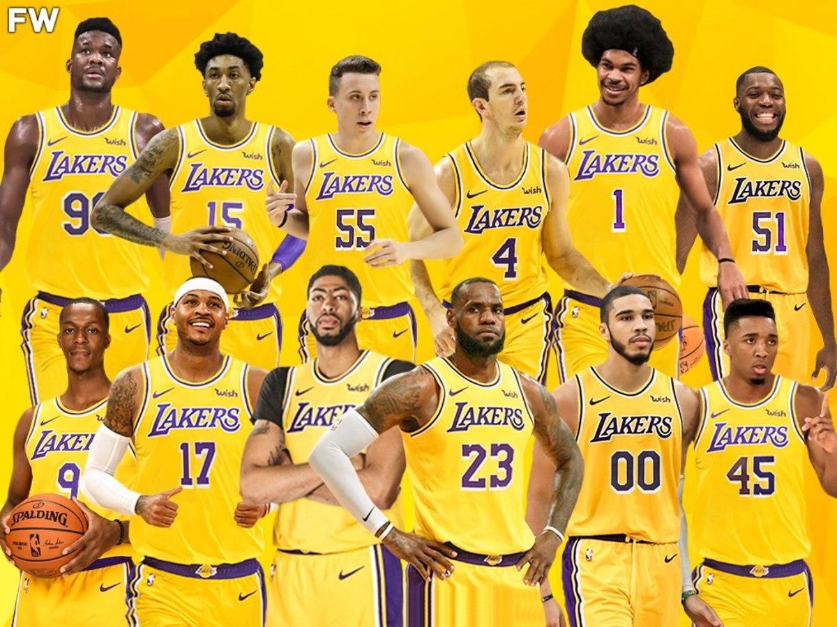 The Perfect Team Around LeBron James ( $100 Million Budget)