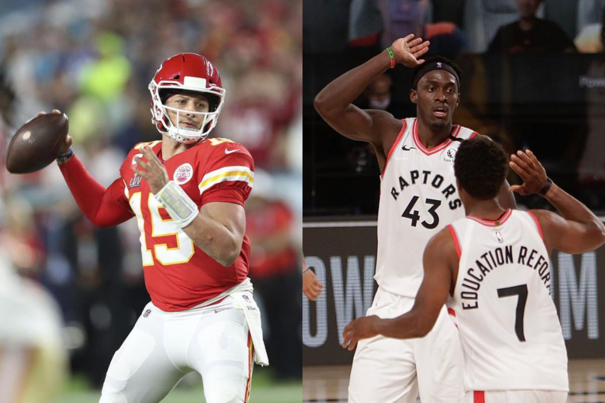 NFL Star Patrick Mahomes Urges NBA To Bring Raptors To Kansas City