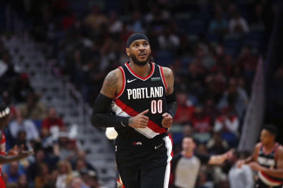 Carmelo Anthony Agrees To Deal To Portland Trail Blazers