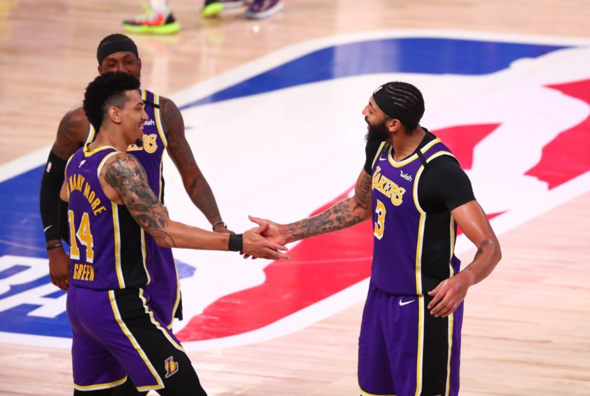Danny Green May Have Leaked Anthony Davis Huge Signing With Lakers On Instagram