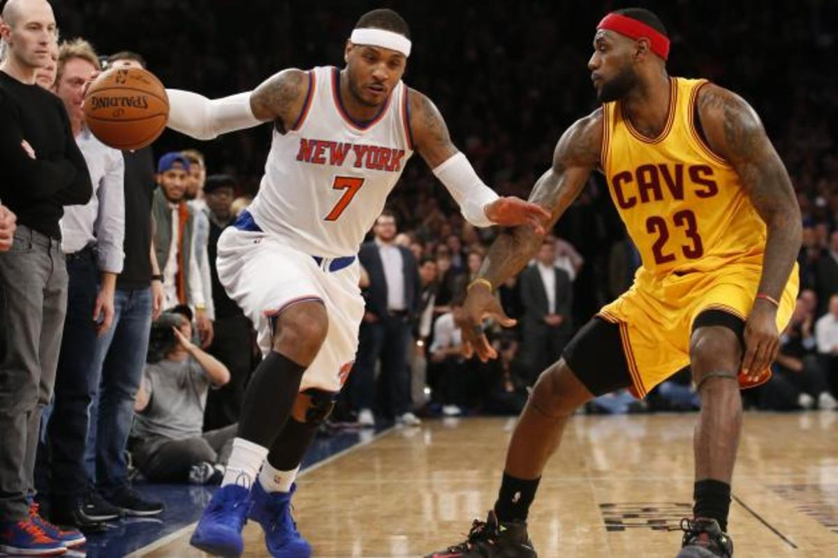 Carmelo Anthony vs. LeBron James