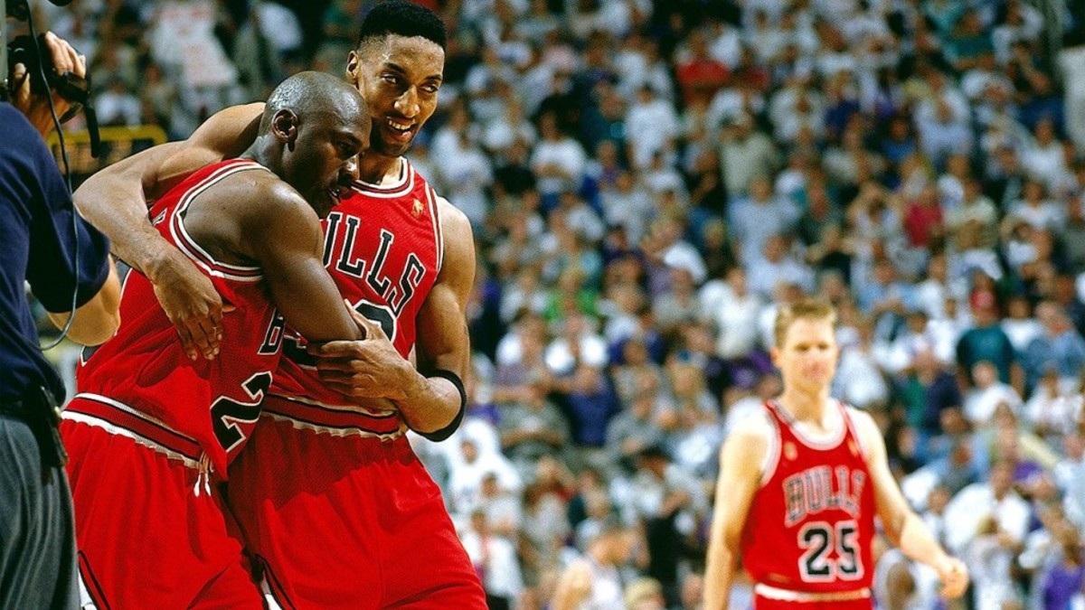 """Steve Kerr: """"Scottie Was Beloved By All Of Us Because He Was Such A Perfect Complement To Michael. Michael Was The Hardass."""""""