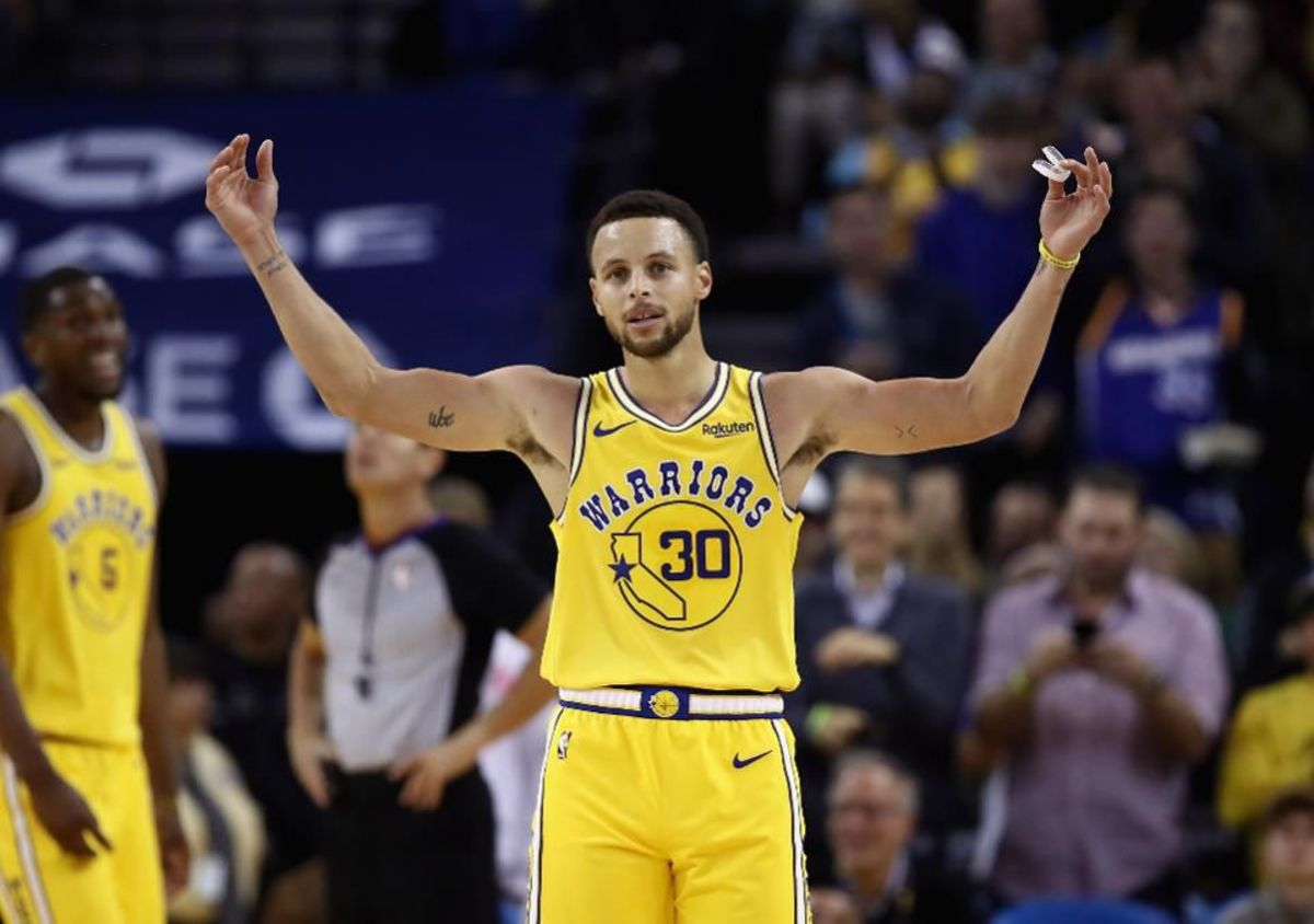 Stephen A. Smith Predicts Warriors 'Will Find A Way To Make The Playoffs' As Long As They Have Steph Curry