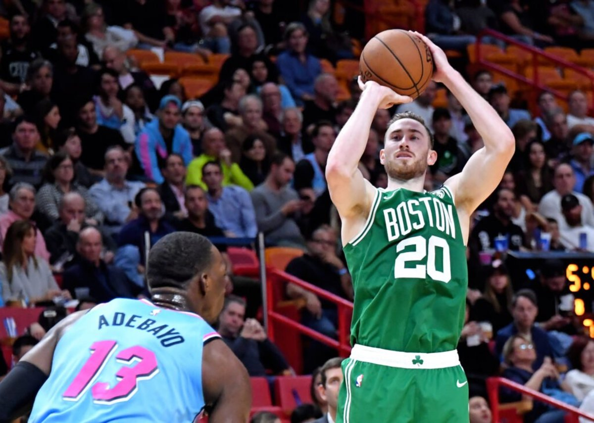 Gordon Hayward Reveals He Won't Leave Bubble For Birth Of Son, Plans To Stay For Rest Of Celtics' Run