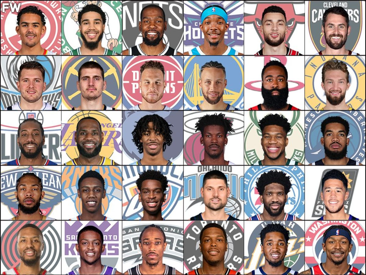 The Best Player From Every NBA Team Right Now