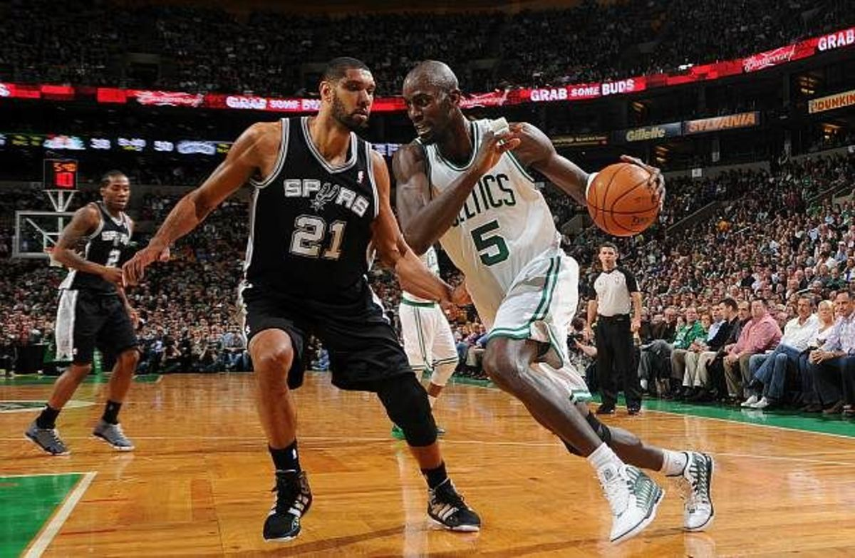 Tim Duncan, Kevin Garnett React After Being Inducted To The Basketball Hall Of Fame