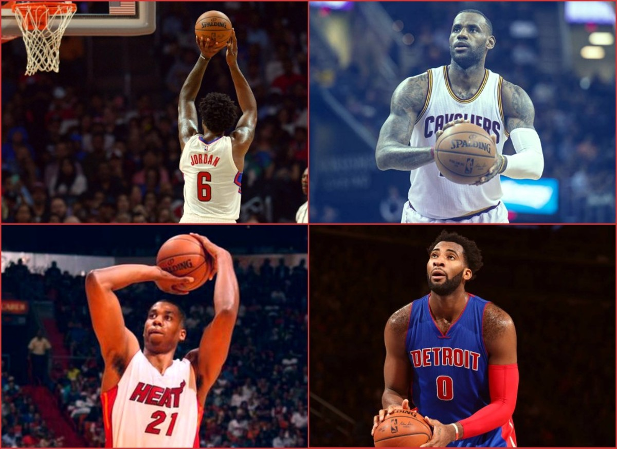 Top 10 Worst Free-Throw Shooters In The NBA 2016/17