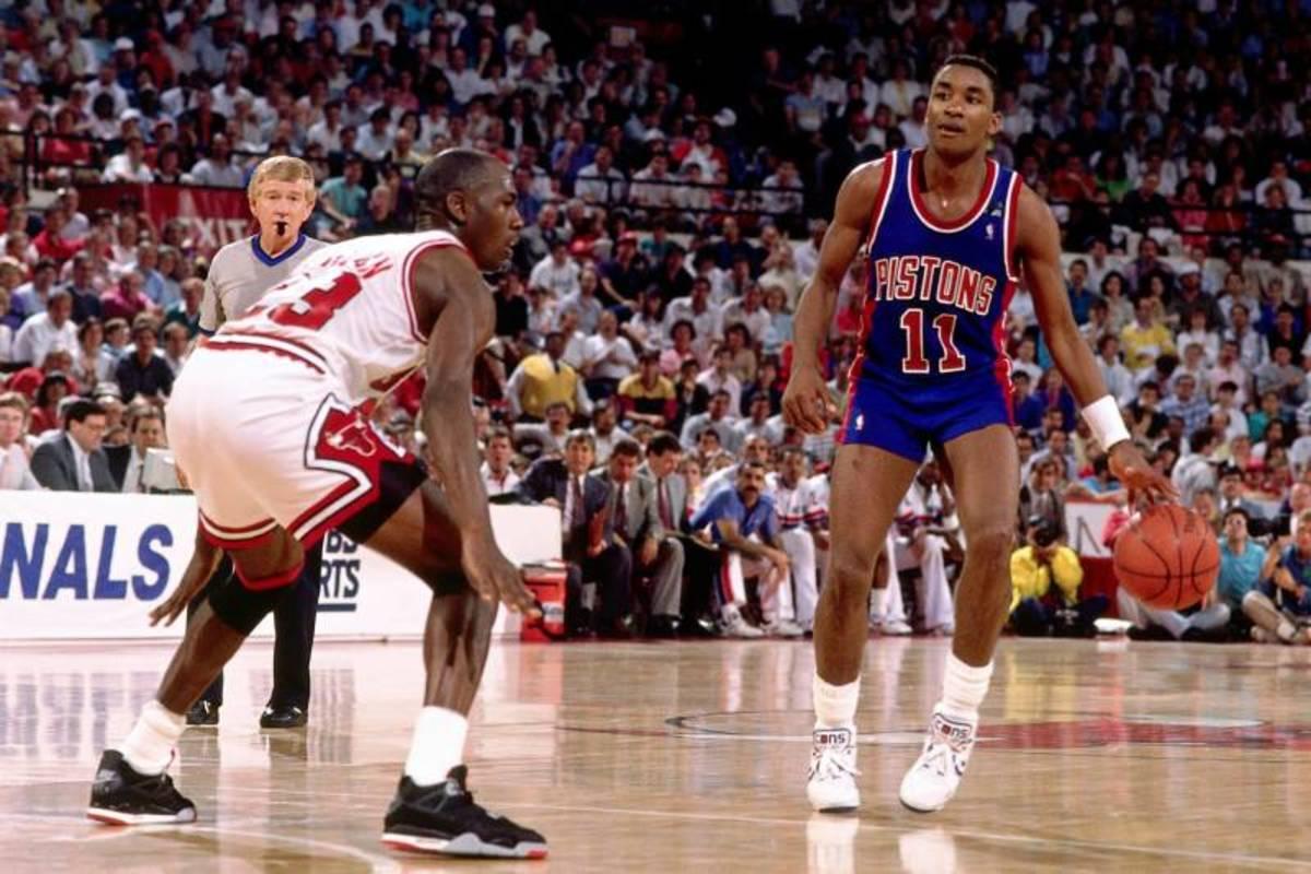 Isiah Thomas vs. Michael Jordan
