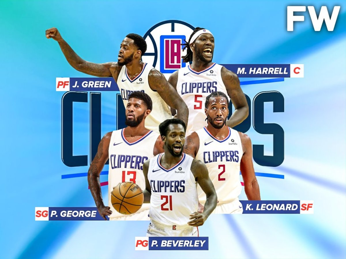 The 2019 20 Projected Started Lineup For The Los Angeles Clippers