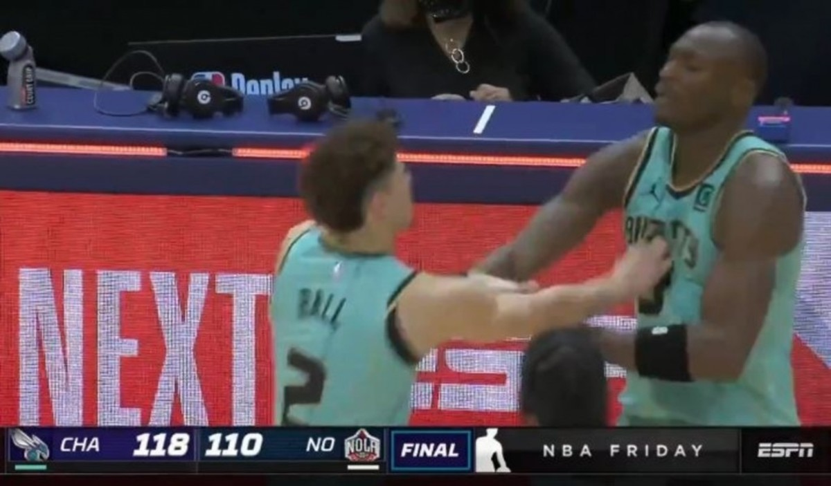 Bismack Biyombo Explains The Controversial Incident With LaMelo Ball