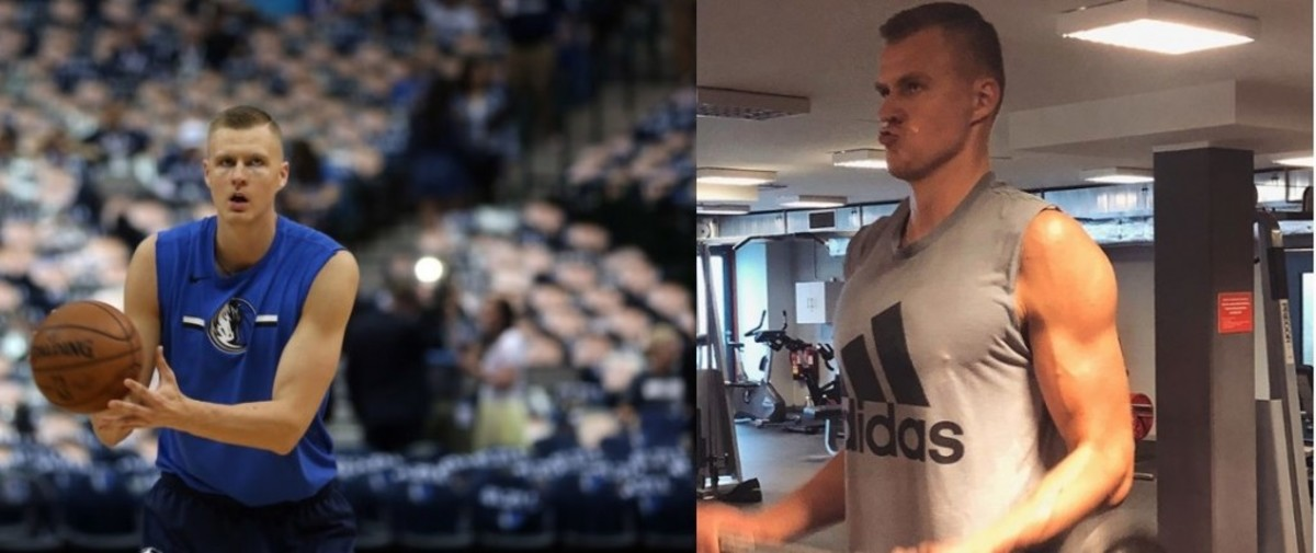 Kristaps Porzingis Looks Ripped In Recent Workout Photo