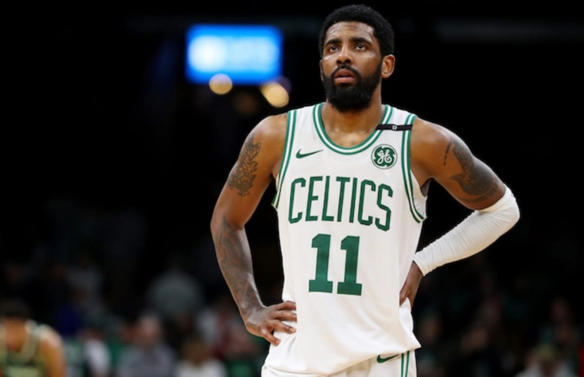 Former Celtic Kendrick Perkins Rips Kyrie Irving After Playoff Exit