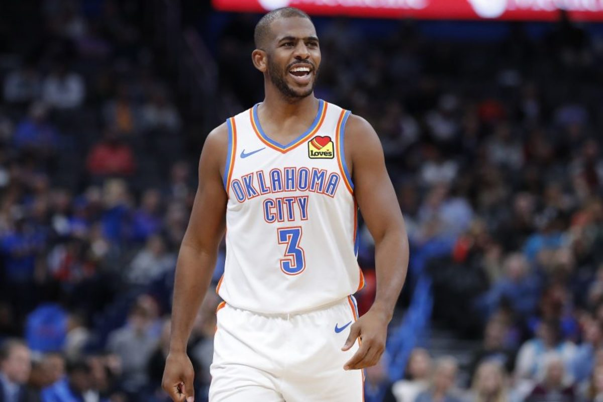 NBA Agent Thinks Chris Paul Is The Piece The Bucks Need To Retain Giannis Antetokounmpo