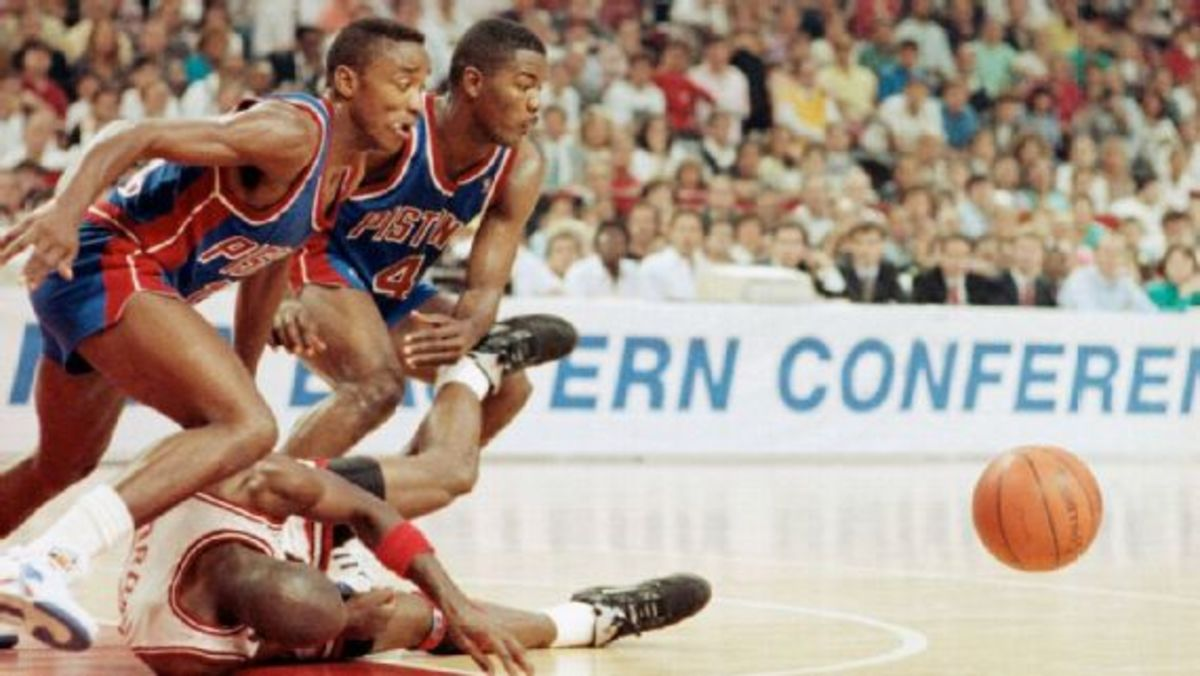 Charles Barkley Takes A Shot At Bad Boy Pistons: 'Only Two Guys On That Team Could Fight: Isiah Thomas And Joe Dumars'