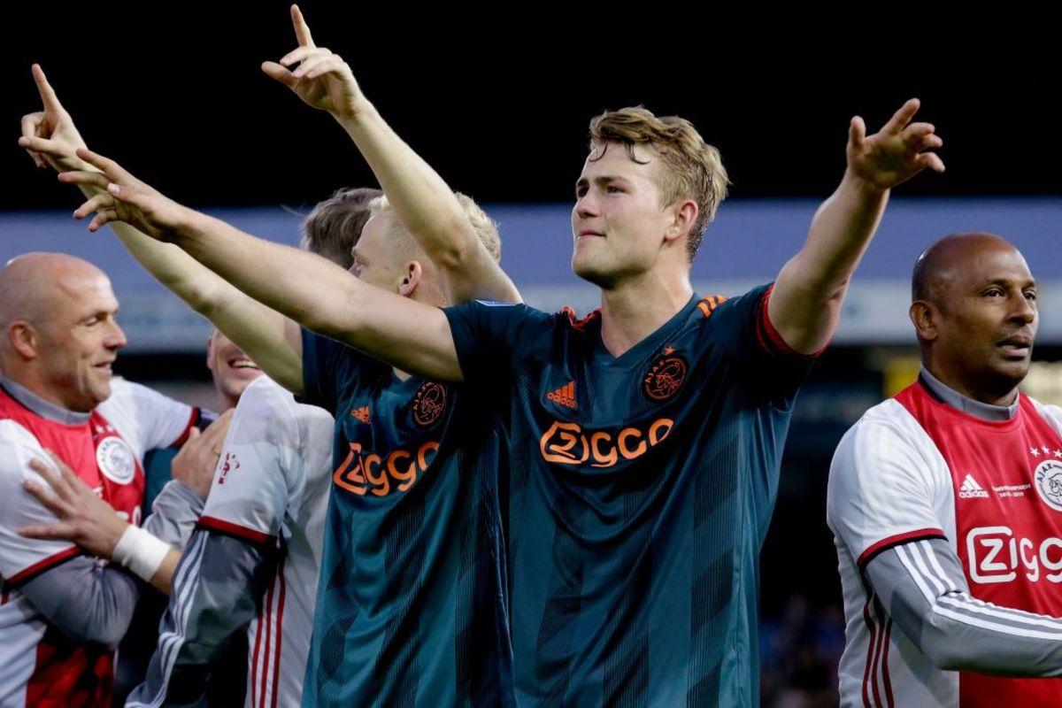 Matthijs De Ligt Closer To Join Barcelona After Man. Utd. 'Rule Out Move' for Ajax Defender