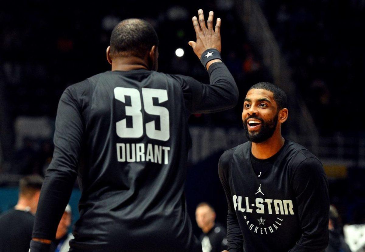 NBA Rumors: Nets Focused On Assembling Kyrie Irving, Kevin Durant And DeAndre Jordan Trio
