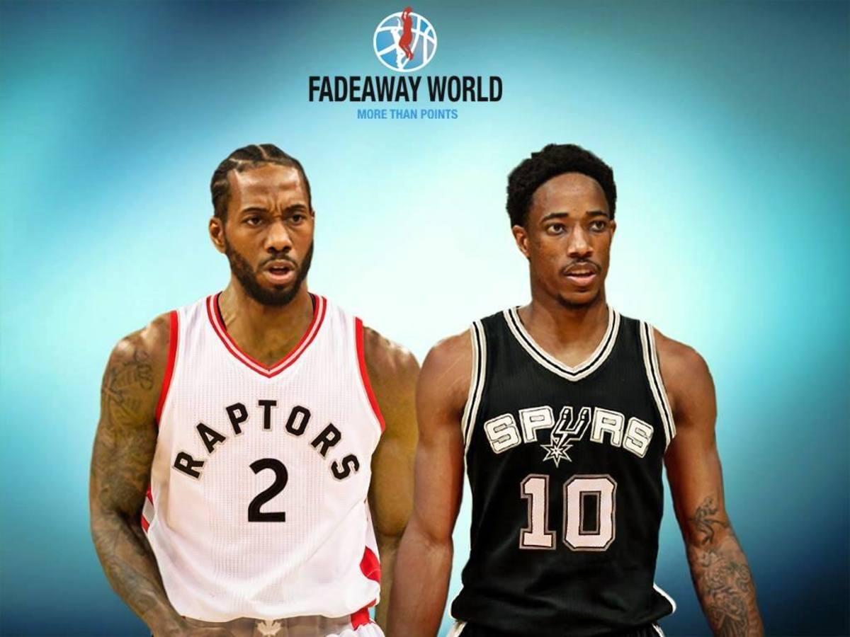 Kawhi Leonard To The Toronto Raptors