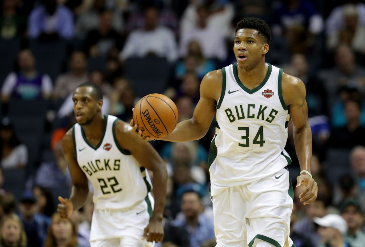 Giannis Antetokounmpo & Khris Middleton
