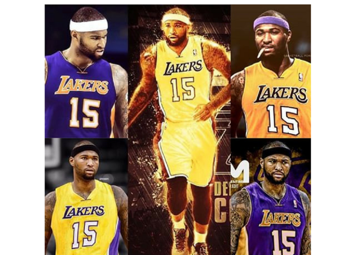 cousins lakers