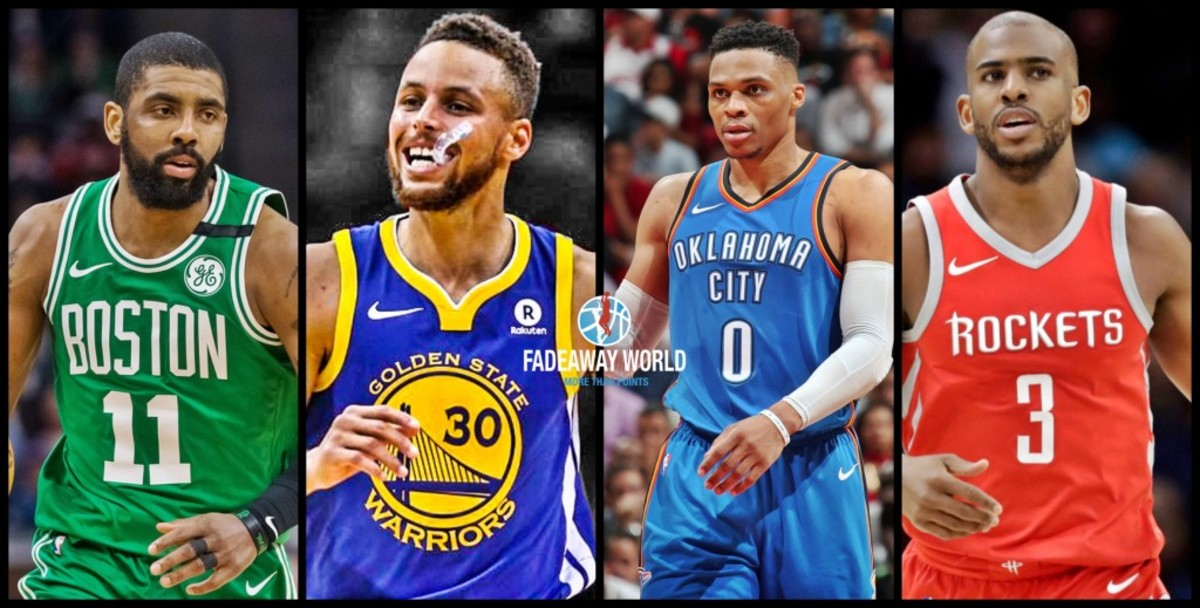 Curry Irving Paul Westbrook