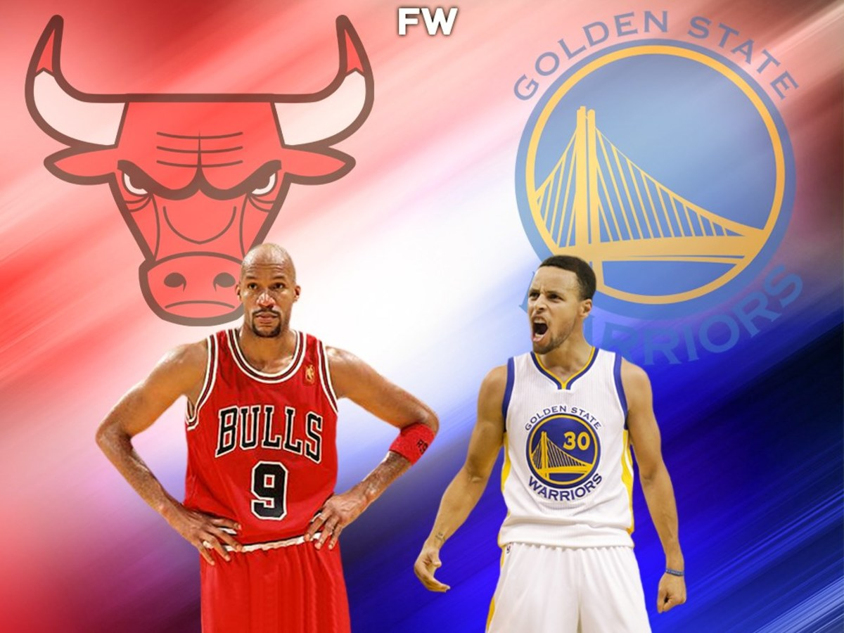 Ron Harper vs. Stephen Curry