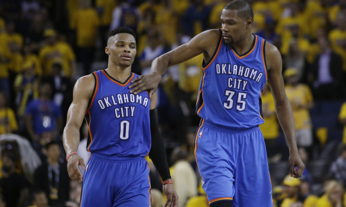 Russell Westbrook And Kevin Durant Had More Than 6 Turnovers In Final 3 Minutes Of Game 6 Of The 2016 Western Conference Finals