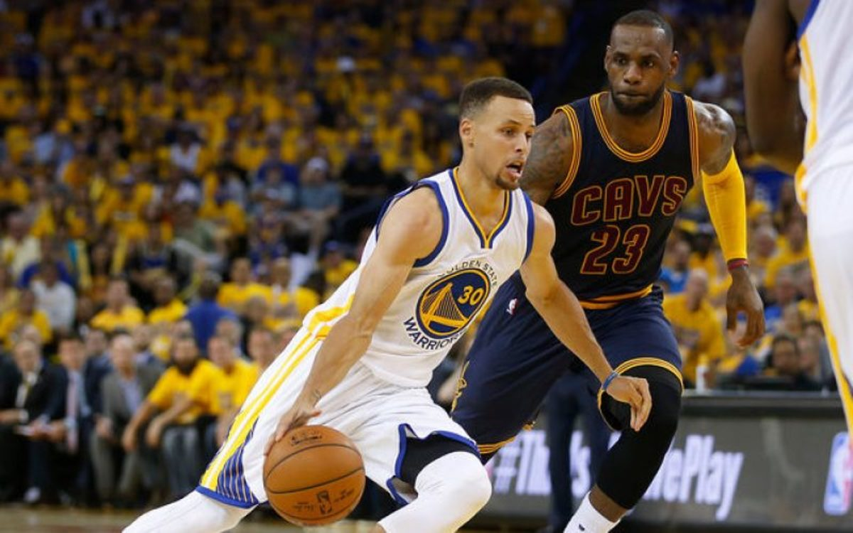 Stephen Curry: 'Every One Of My Rings Came Against A Man They Consider The Greatest Ever. If I'm Overrated, What Does That Make Him?'